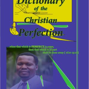 cover - Dictionary of the Christian Perfection - Charles PK Watcher